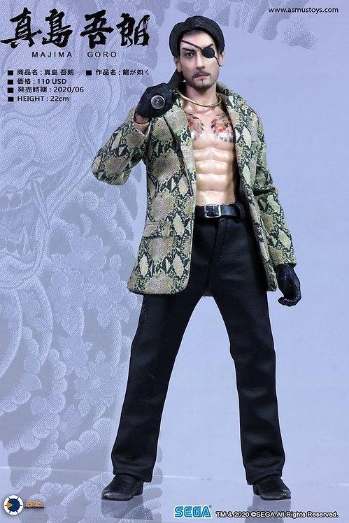 Asmus Toys YAKU02A Ultimate 8 Yakuza Series: Majima Goro