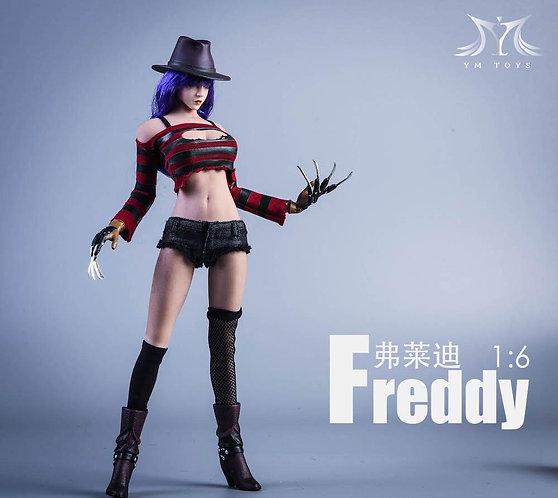 YMTOYS YMT035 Female Freddy 1/6 Costume Set