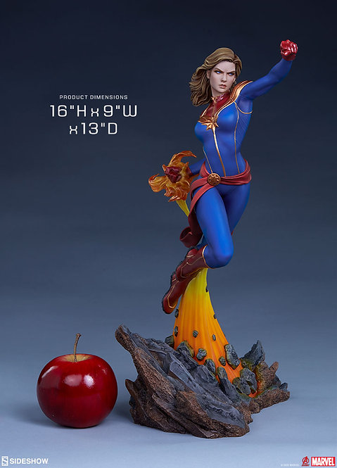 Sideshow Avengers Assemble Statue Collection - Captain Marvel