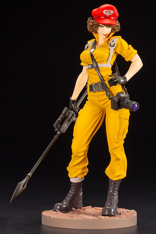 Kotobukiya G.I. Joe Lady Jaye Canary Ann Color Bishoujo Statue