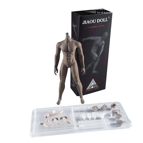 Jiaou JOK-12D-BS (Wheat Skin) Strong Build 1/6 Male Body Detachable Feet