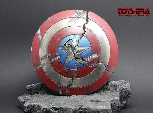 Toys Era 1/6 scale Cracked Shield with stone base