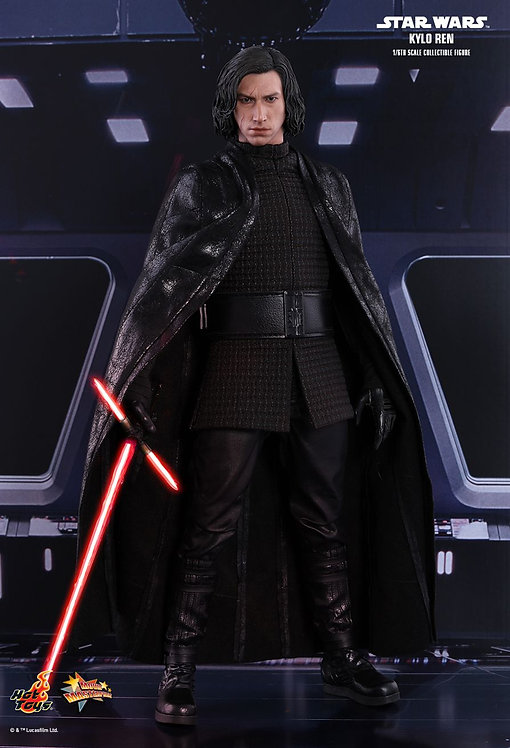 Hot Toys MMS438 Star Wars The Last Jedi Kylo Ren 1/6th Scale Collectible Figure