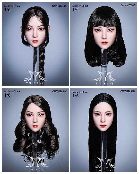 YMTOYS YMT054 Eve Female 1/6 Headcsulpt