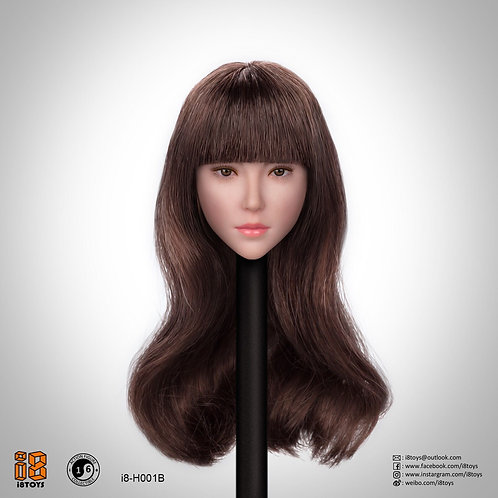 i8 -H001B 1/6 Female Headsculpt