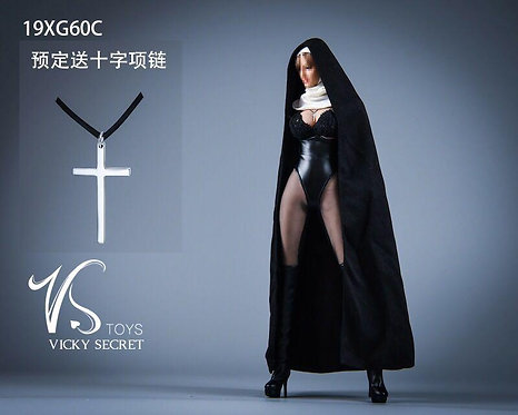 VSTOYS 19XG60C 1/6 Church Girl Nun Set Kit