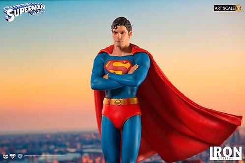 Iron Studios Deluxe Art Scale 1/10 Superman: The Movie 1978 Statue