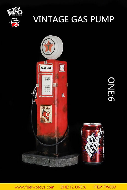 FEELWOTOYS FW009-6 Vintage Gas Pump 1/6 Scale