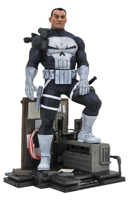 Diamond Select Marvel Gallery Punisher Comic Statue
