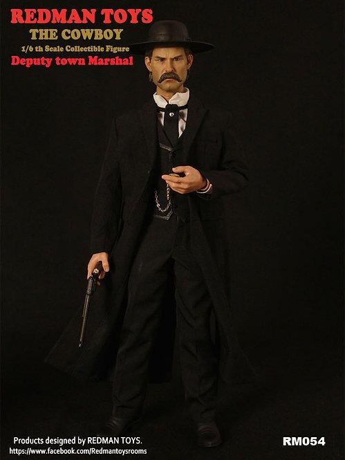 REDMAN TOYS RM054 The Cowboy Deputy Town Marshal 1/6 Figure