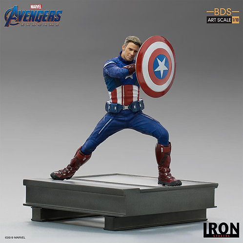 Iron Studios Captain America 2023 BDS Art Scale 1/10 – Avengers: Endgame