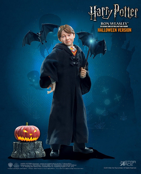 Star Ace Toys HW0002 - Ron Weasley (Child) with Halloween accessories