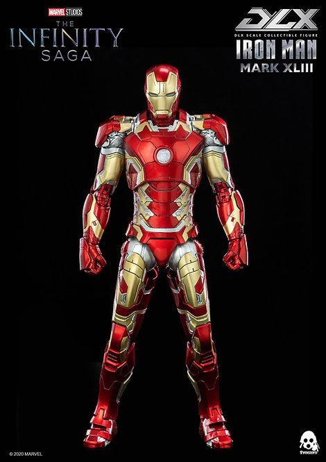 Threezero Avengers: Infinity Saga 1/12 scale DLX Iron Man Mark 43