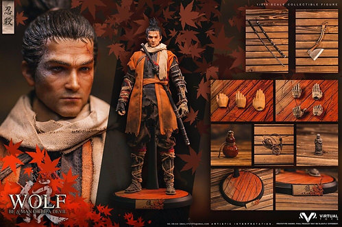 VTS TOYS VM-030 1/6 The Wolf of Ashina Normal Edition