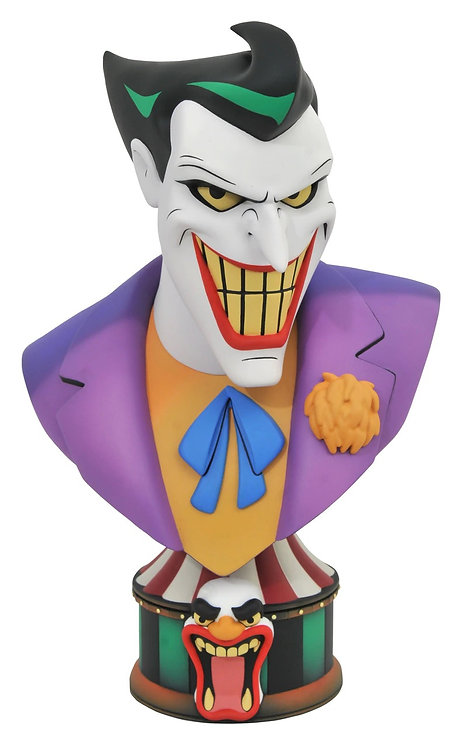Diamond Select Legends in 3D Batman: The Animated Series Joker 1:2 Scale Bust