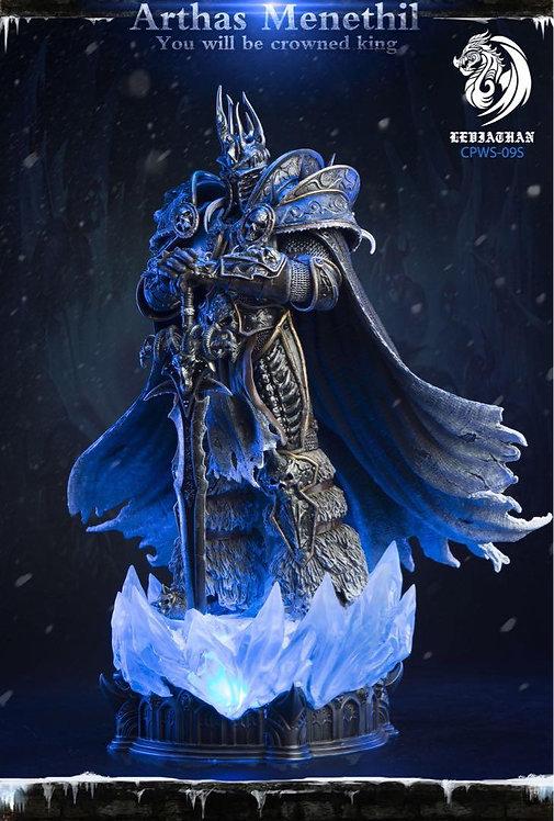 Coreplay CPWS-09S LEVIATHAN Lich King Arthas Menethil 1/10 Desktop Statue