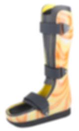 Yürümededestek ya da denge sağlamanın ihtiyaç olduğu her ortopedik anomali. Yürüyüş sırasında orta-ayaktaki ülseri rahatlatmak. Plantar ülserli TAL ( Tendo-Achilles Lengthening) sonrası. Acilön-ayakya da orta-ayak kesiminden (amputasyon) sonra. Charcot desteği ve sallanan (rocker) ayak desteği sonrası. Kalkanektomi (topuk operasyonları) sonrası. Diyabetik ayak yara tedavi diyabet ortez şeker hastalığı nöropetik kalkanektomi kırık ayak post-tal. Orta-ayak/ Yürüme AFO.
