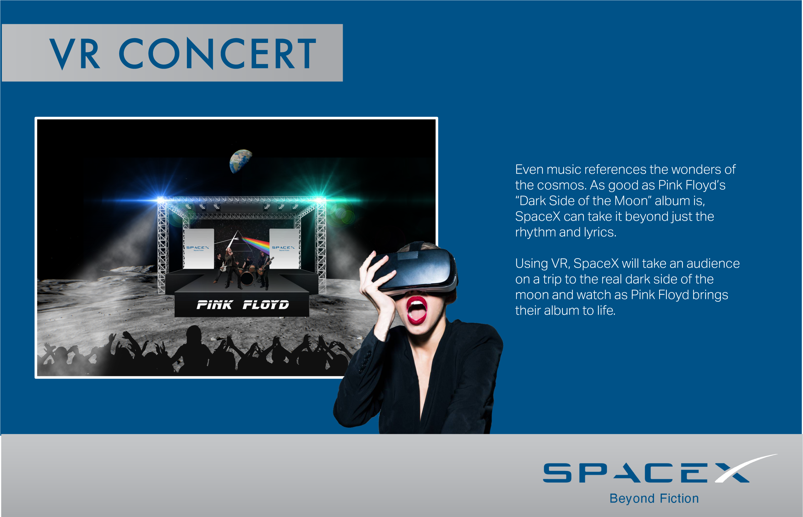 Space X VR Concert
