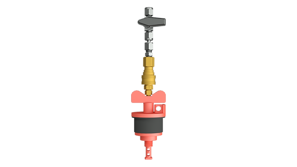 212 Vapor Monitoring Well Plug with Quick Connect Adapter