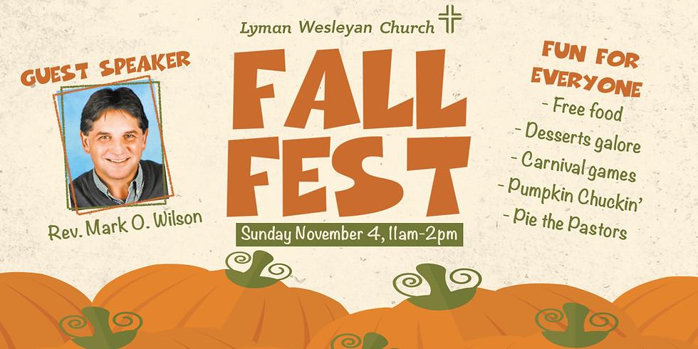 Fall Fest Sunday