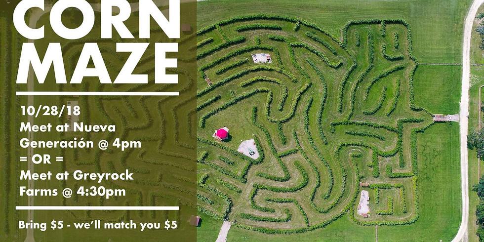 United in a Corn Maze
