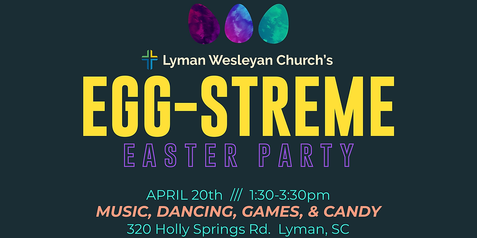 EGG-Streme Easter Party