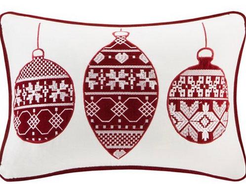 Velvet Ornament Red