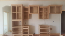 New Build Antiquing Cabinets
