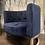 Thumbnail: Blue Velvet Chair