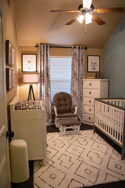 Entry View of Baby Room