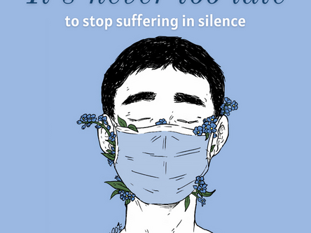 It's never too late to stop suffering in silence