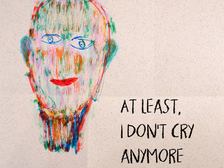 At least I don't cry anymore