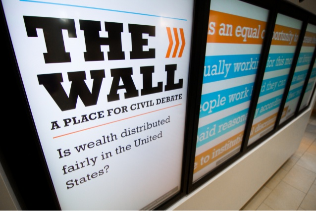 Bob Graham Center - Civil Debate Wall