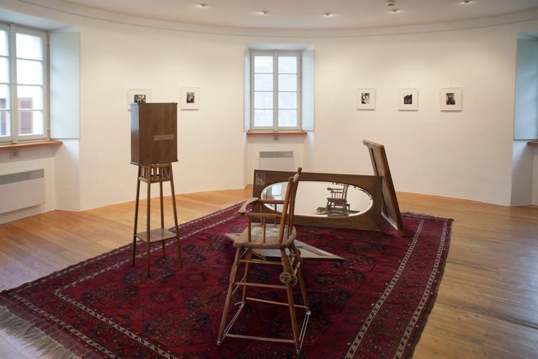 Casa Rotonda: installation view (ground floor)