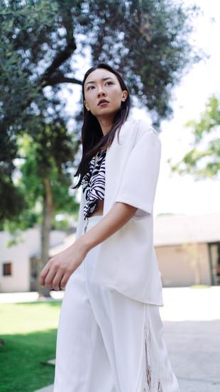 Photographer:  Eran Elster Styling: Pini Zomer MUA: Nurit Chen  Hairstylist: Noaa Malka