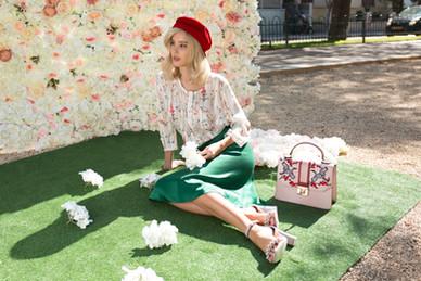 Photographer: Marina Moshkovich Styling: Pini Zomer  MUA: Roza Swartsman Hairstylist: Ariel Attedgi