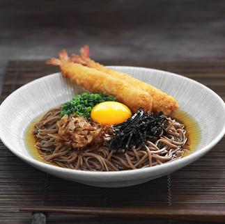 Fried shrimp Soba, 2021