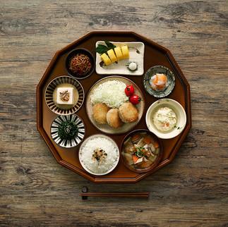 Homemade food in japan, 2018