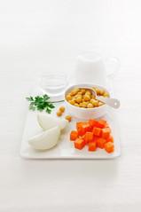Chick peas carrot soup, 2018