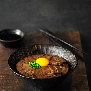Bowl of rice Covered with Chashu, 2020