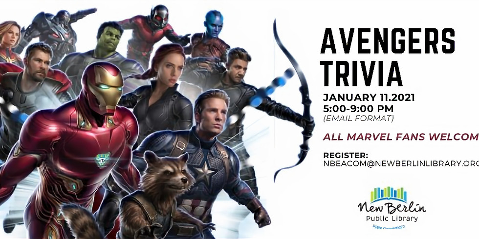Avengers Trivia with New Berlin Public Library