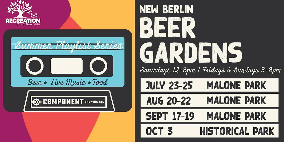 New Berlin Beer Gardens featuring Component Brewing Company