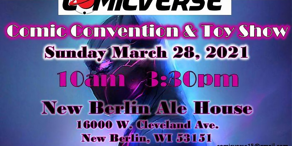 Comicverse Comic Convention & Toy Show