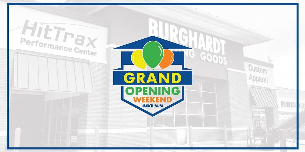 Burghardt Sporting Goods Grand Opening