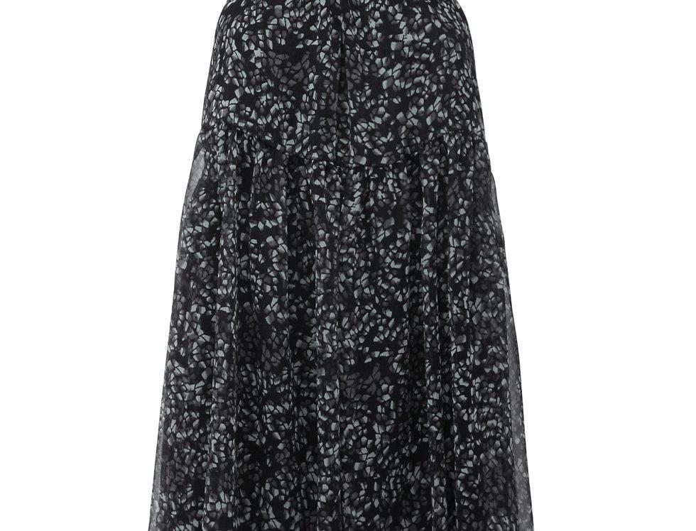 Lorena silk dress