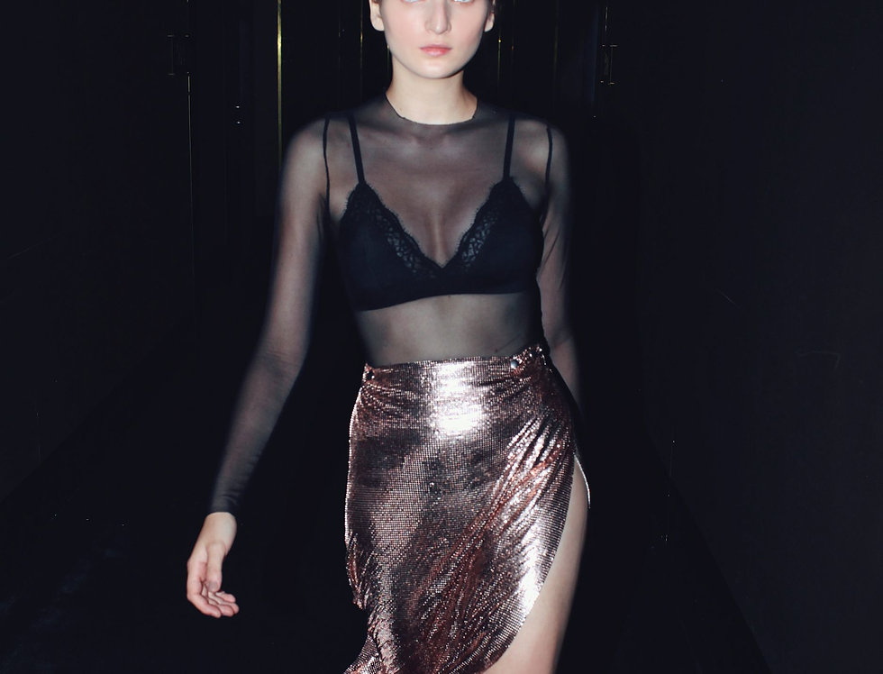 Chainmail skirt