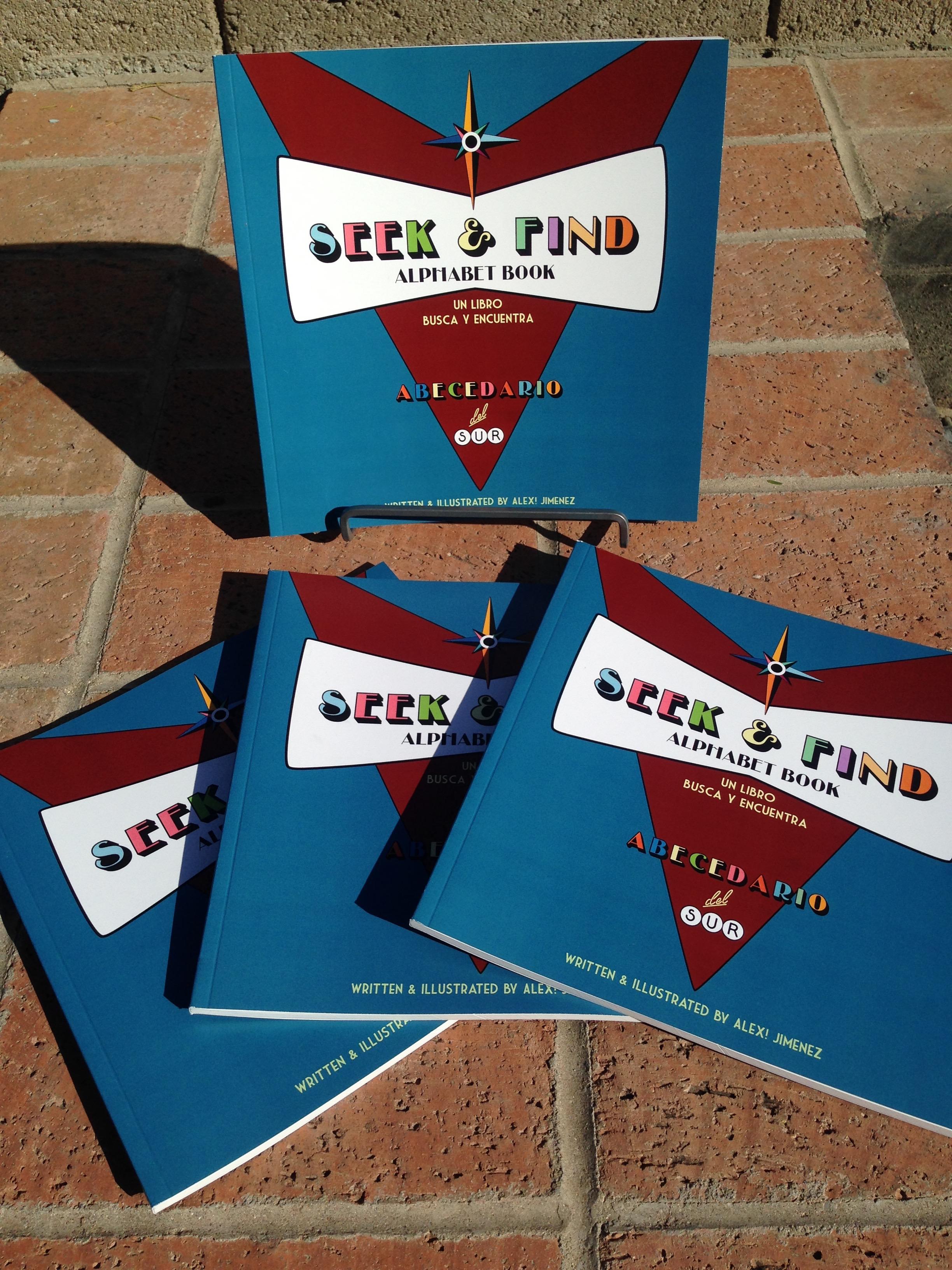 Seek & Find Alphabet Book