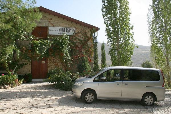 Vévicule 7 paces pour voyage Chypre