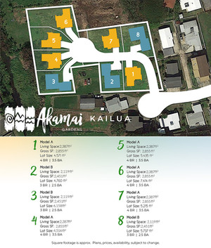 Akamai Gardens - One Page Flyer - Ubrand
