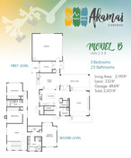 Akamai Gardens - Floor Plan Model B - Ap